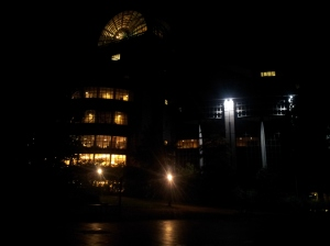 夜の欧州議会