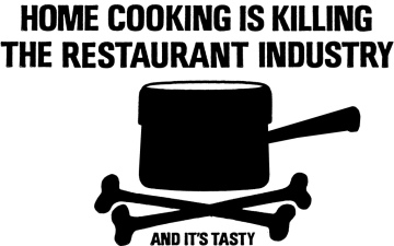 home cooking is killing the restaurant